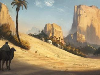 Как возник город Мекка в  Аравии. Легенда о появлении в пустыне источника  и строительства храма Кааба